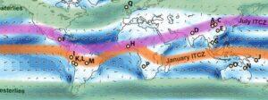 itcz 300x112 - Riscaldamento globale e cintura pluviale tropicale. Effetti in Italia