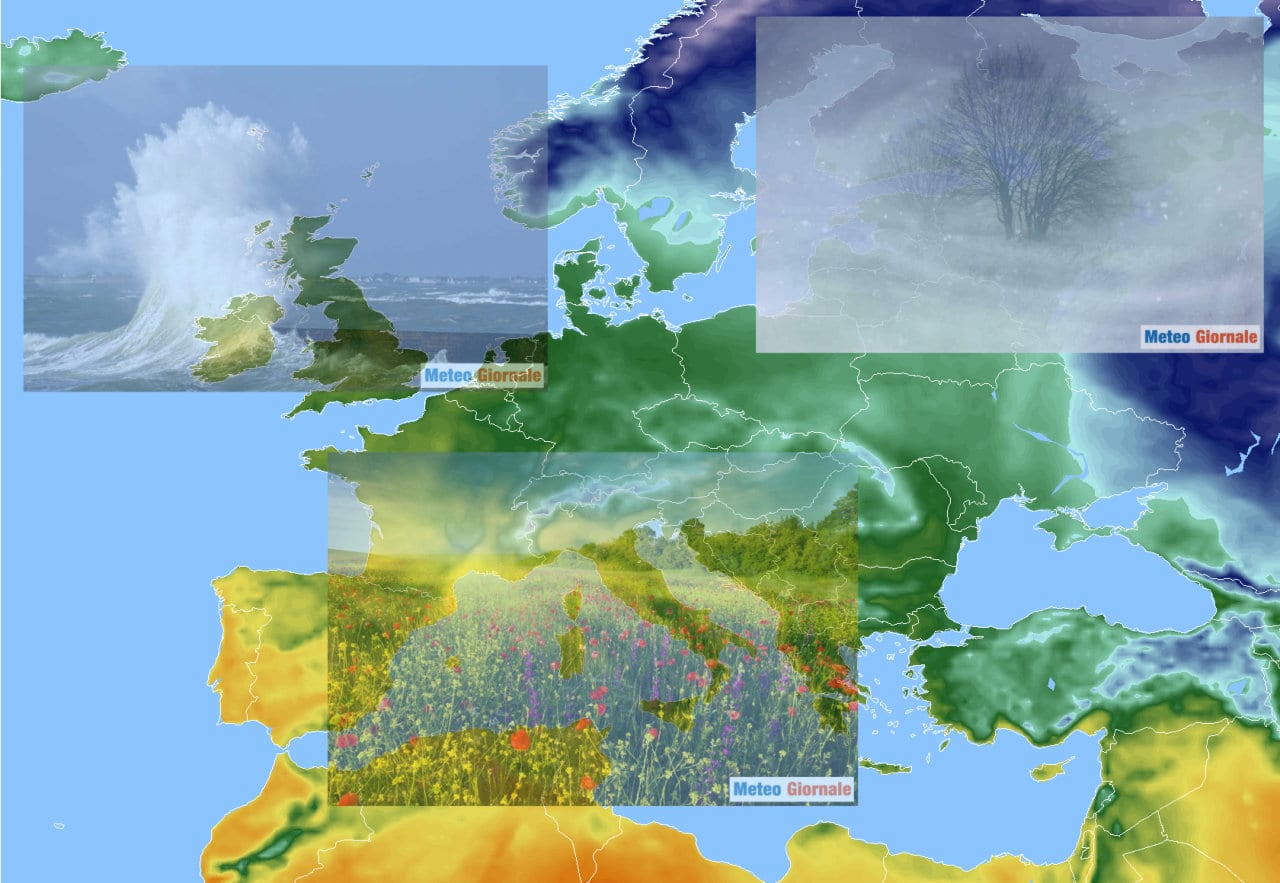 lungo termine5 - Meteo Italia al 3 marzo, in bilico tra Anticiclone e freddo