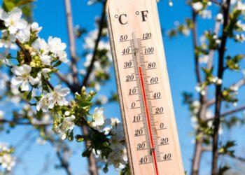 Caldo esagerato di primavera