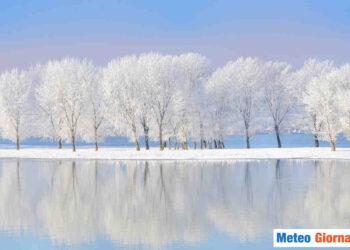 Gelo e ghiaccio sull'Italia