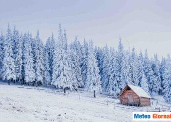 Neve in arrivo per le Alpi e l'Appennino