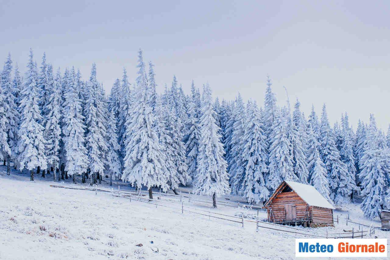 meteo giornale 00138 - Torna la neve nel weekend: vediamo dove. Ecco tutti i dettagli
