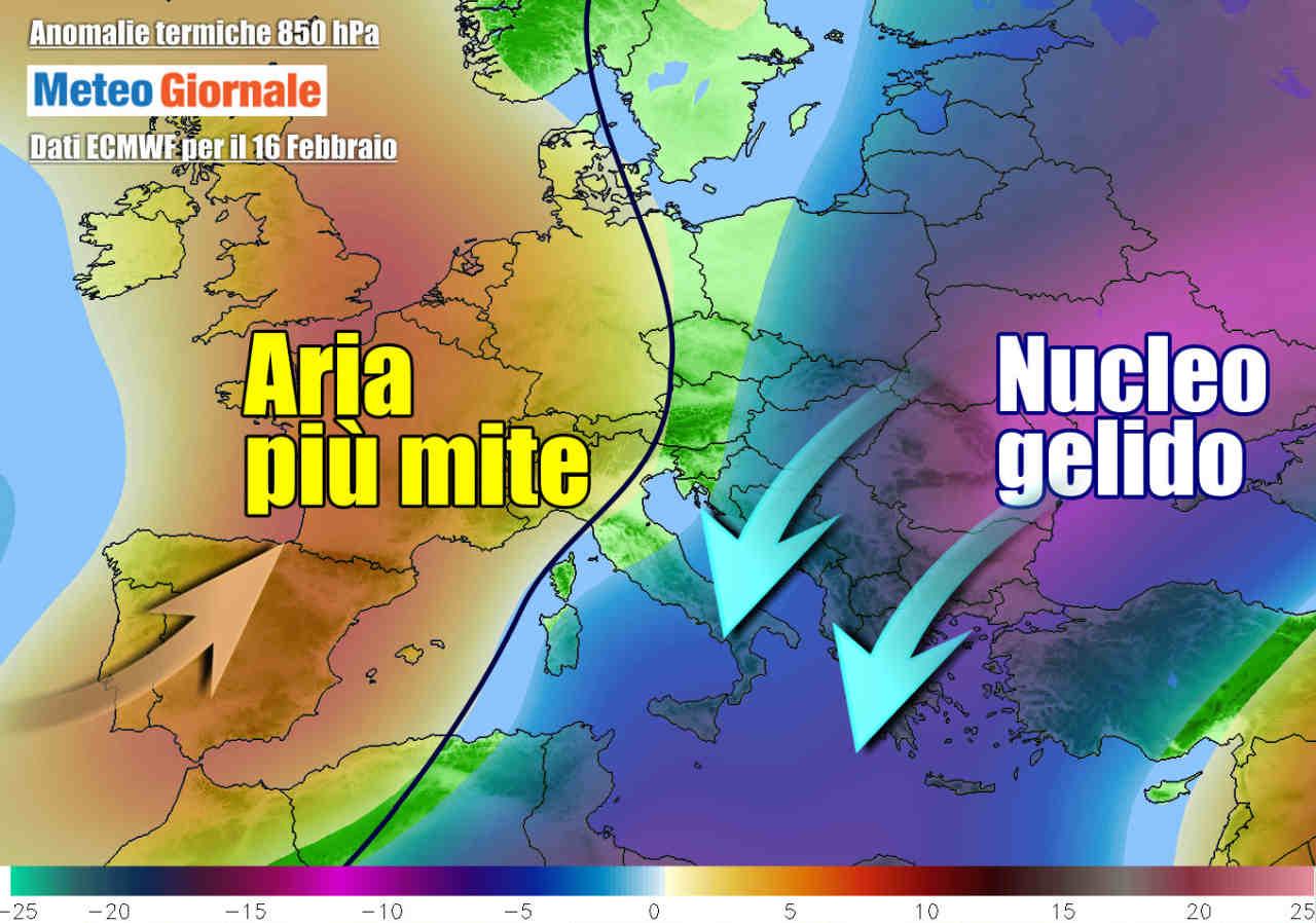 meteo prossima settimana - Meteo prossima settimana: ancora Gelo  Russo, altra Neve neve. I dettagli