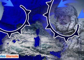 meteo rabbioso tra freddo e burrasche oceaniche 02 350x250 - Potente ONDATA di CALDO in arrivo!