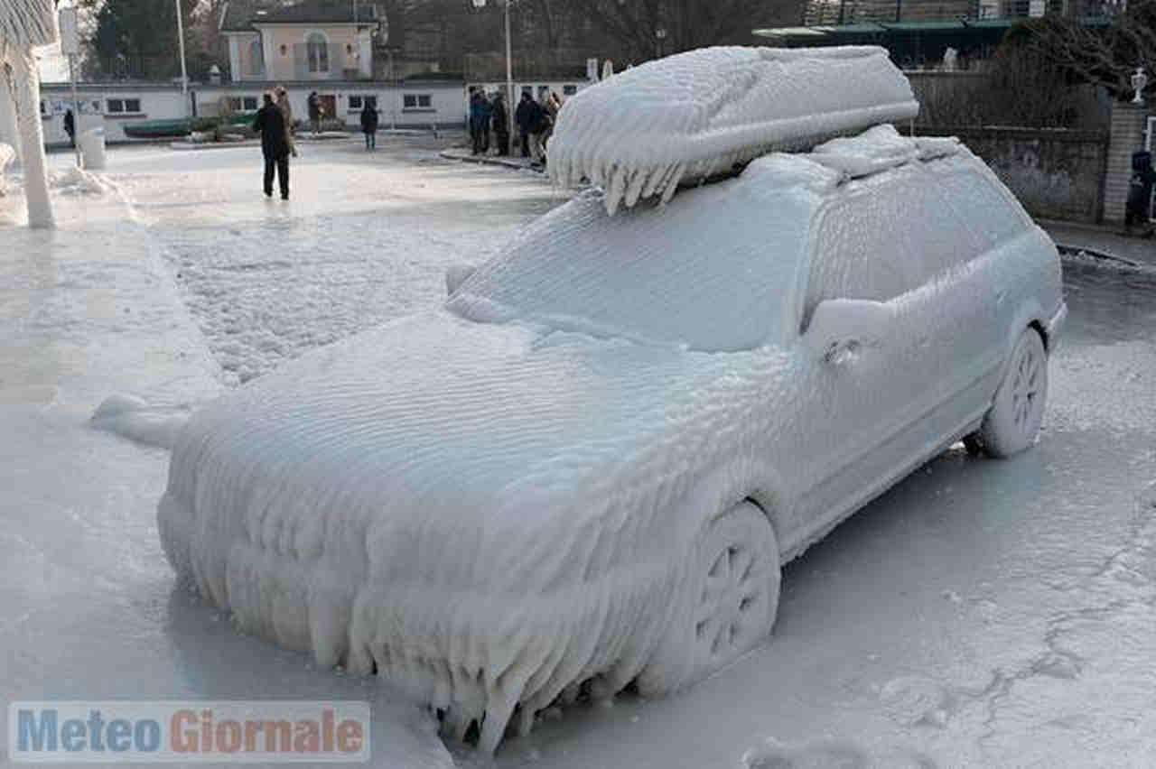 ondate di gelo - Storiche ondate di Gelo a confronto: Febbraio 2012 contro Febbraio 1956