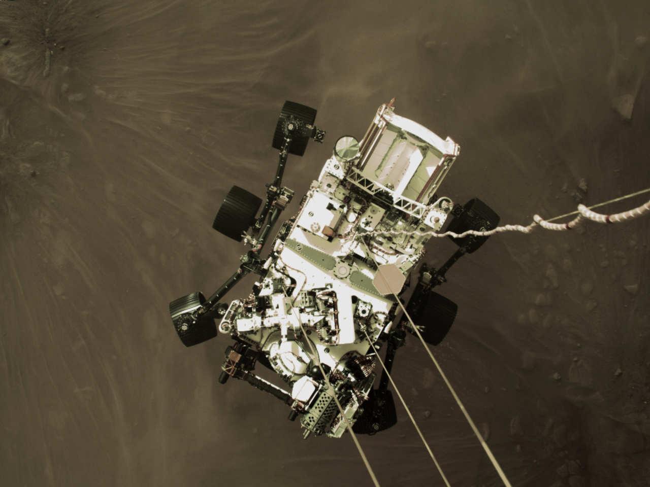 perseverance rover - Missione Marte, le prime esclusive immagini di Perseverance. Video