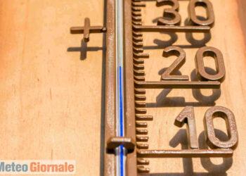 Termometri a sbalzi in primavera, con i primi caldi