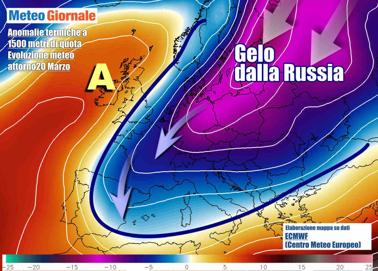 gelo europa 20 marzo - Imminenti, NEVE e GELO in gran parte d'Europa. Flash d'Inverno. Durata
