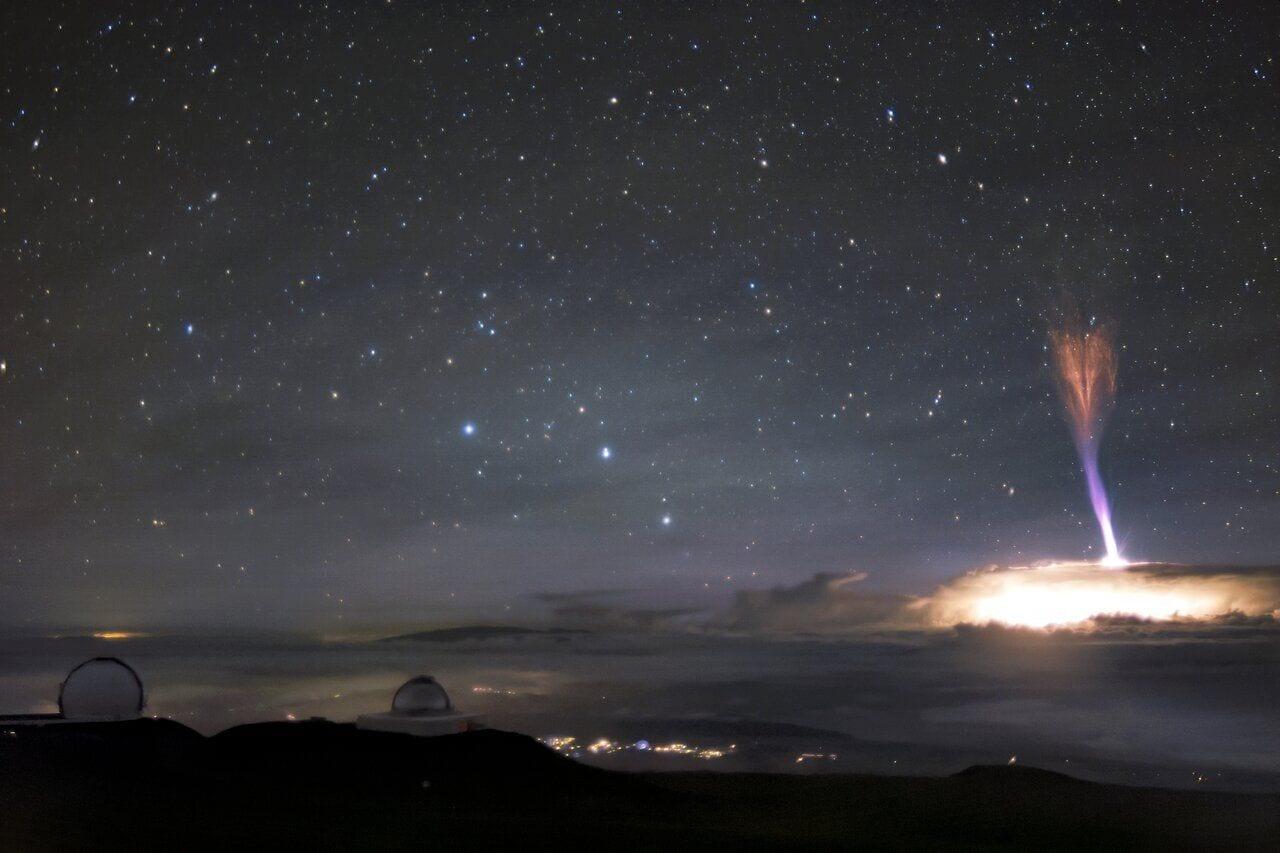 mag1 - Spettri rossi e getti blu: lo spettacolo dei fulmini al telescopio