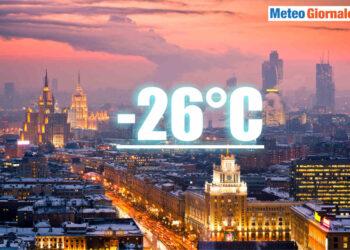 meteo gelido mosca 350x250 - Enorme potenziale di meteo gelido in Russia, ed in Siberia è ben peggio