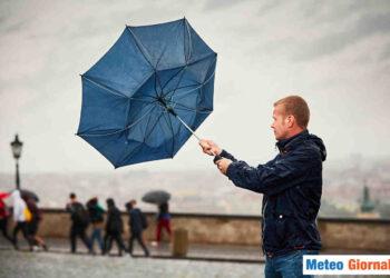 Ritorno di qualche pioggia, ma di scarso rilievo