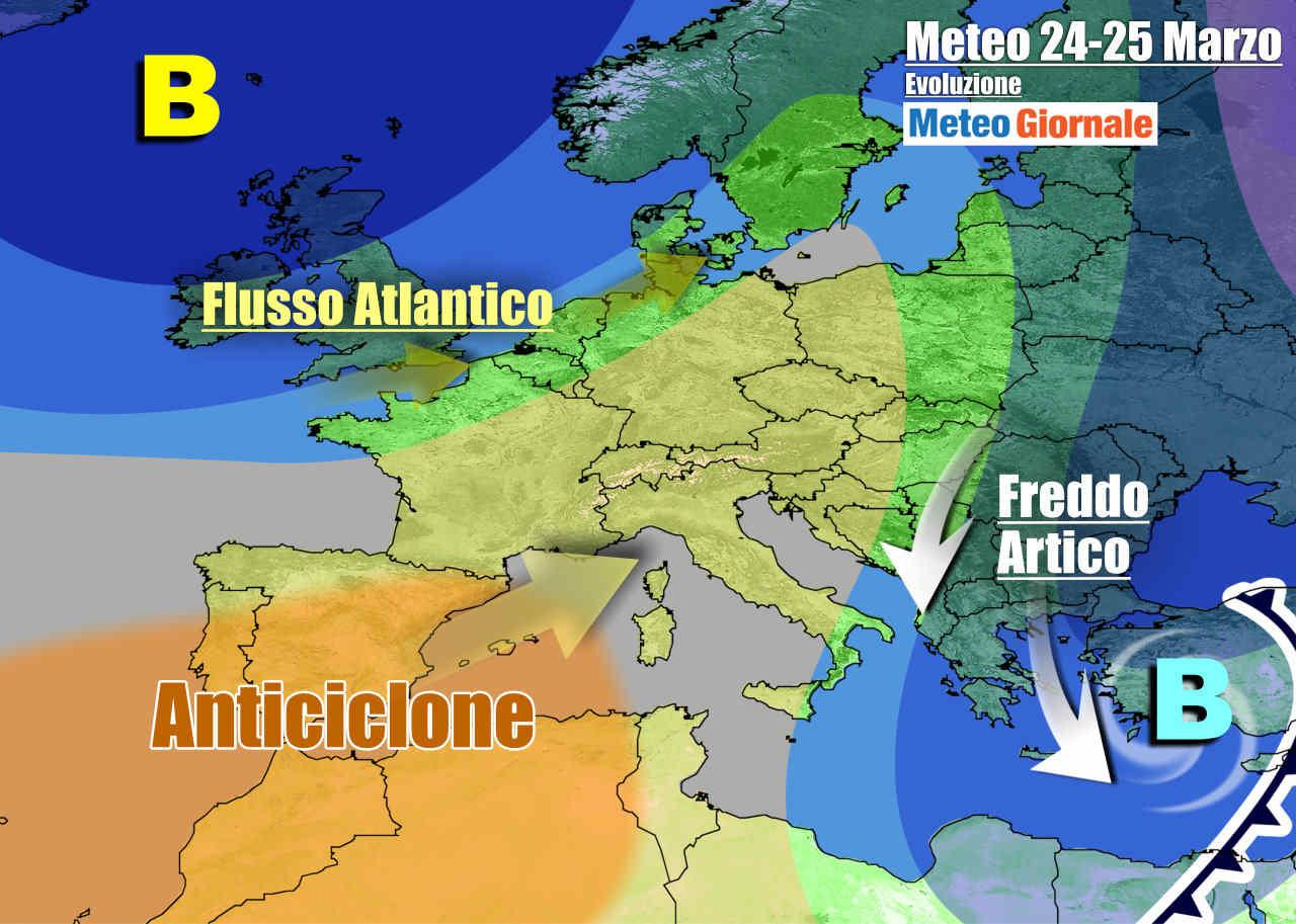 meteogiornale 7 g 20 - METEO Italia. Freddo, neve e gelate, ma la primavera sta per arrivare
