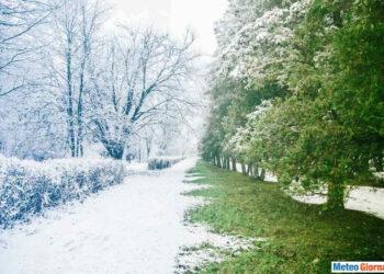Nevicate nel periodo di Pasqua, un evento ricorrente