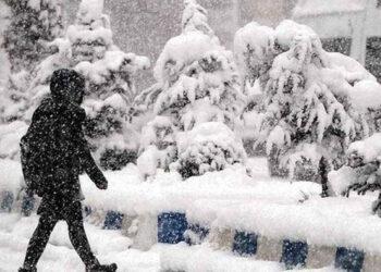 Copiose nevicate di primavera in Turchia