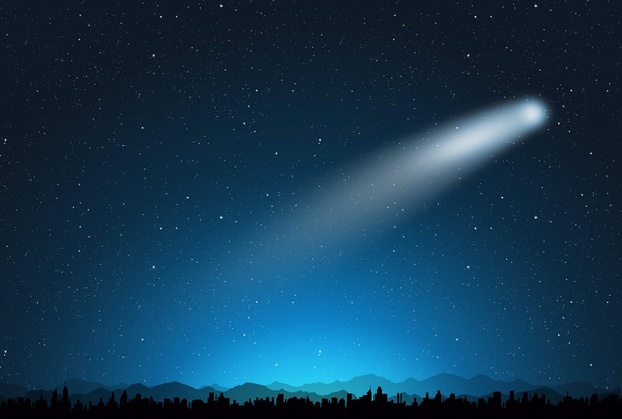 scia luminosa sulla luna - La LUNA e la sua scia luminosa