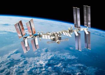 Una veduta della Stazione Spaziale internazionale