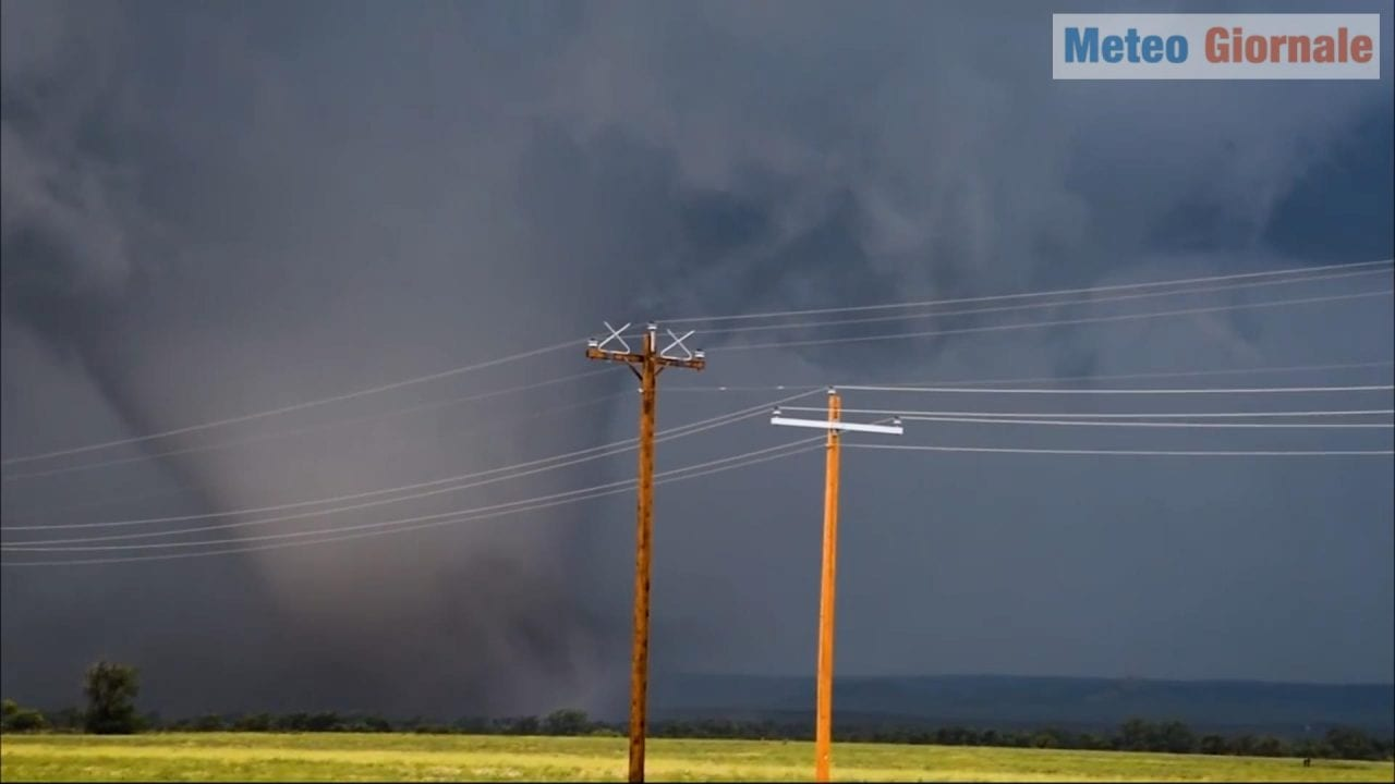 tornado nel nord america - Video meteo: stagione dei tornado nel Nord America