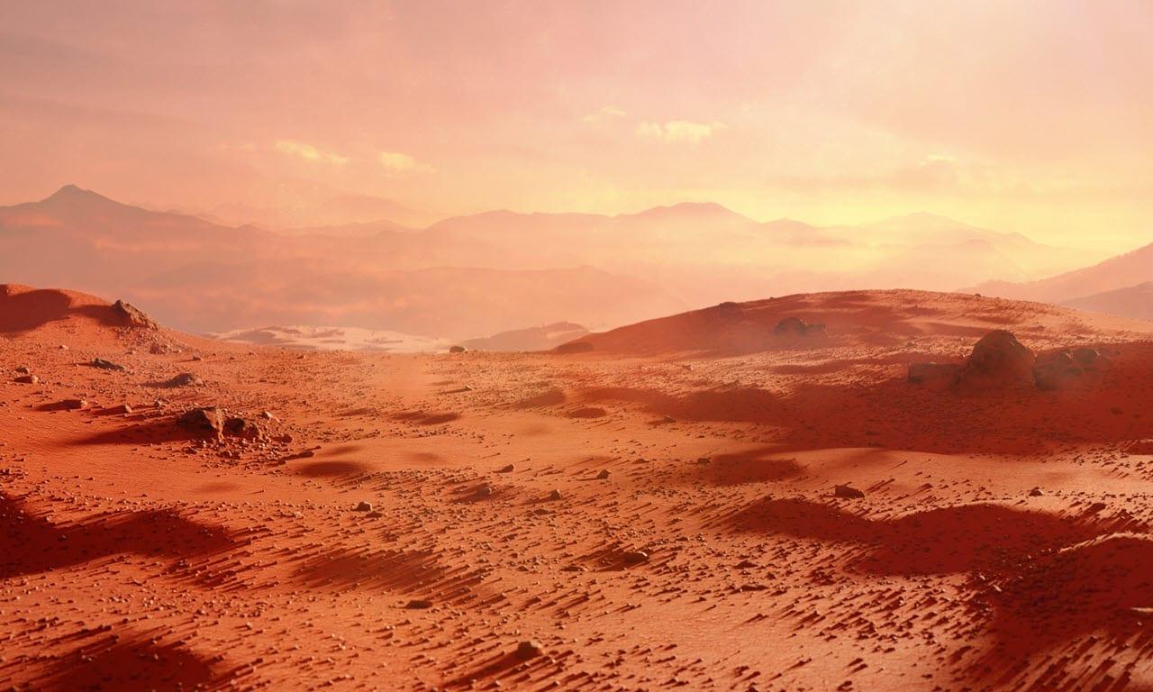 veduta di marte 1 - I MARZIANI su Marte? Quando e cosa