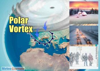 Tutto da seguire il Vortice Polare per aprile