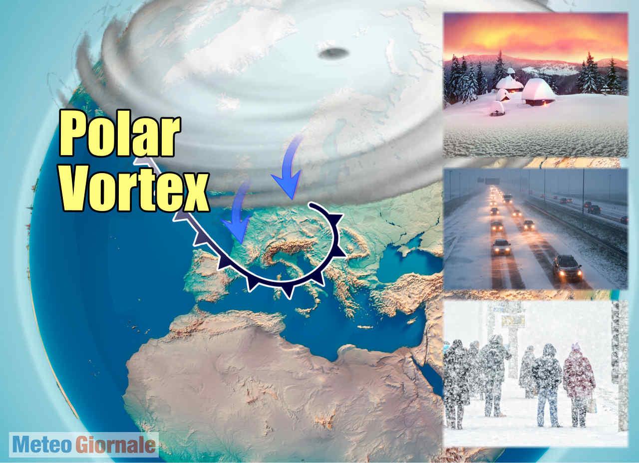 vortice polare 01 - Meteo d'Aprile, il Vortice Polare e le sue potenziali pessime influenze