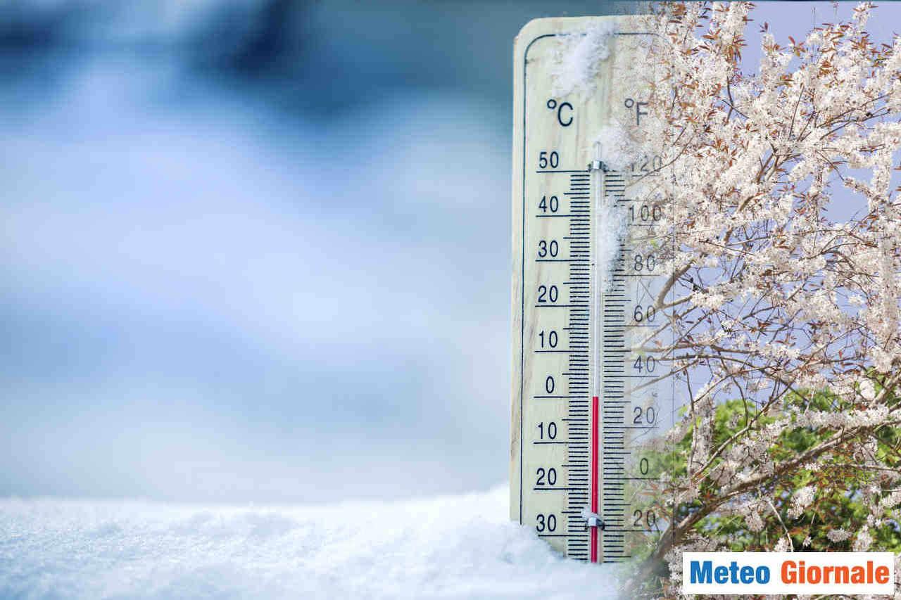 freddo primavera 1 - METEO con TEMPERATURE fredde per il periodo. L'arrivo del Caldo