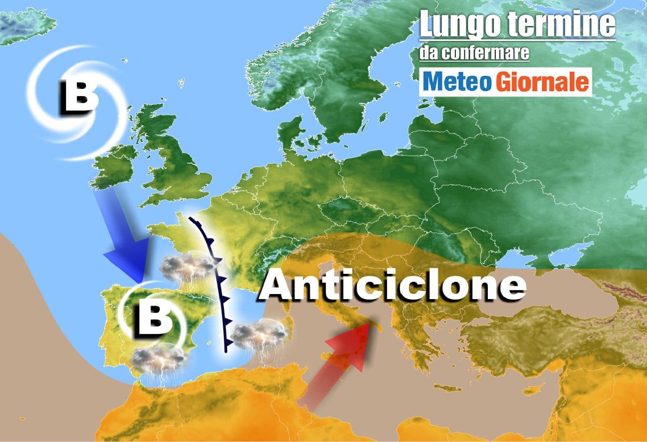 lungo termine 11 - Meteo Italia al 1 maggio: esordio mensile BRUTTO
