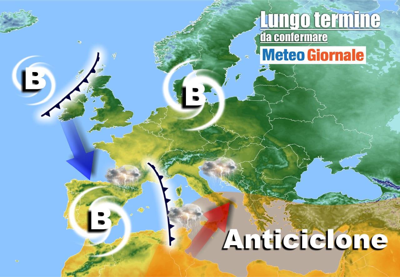 lungo termine 13 - Meteo Italia al 3 maggio, dal CALDO ai super TEMPORALI
