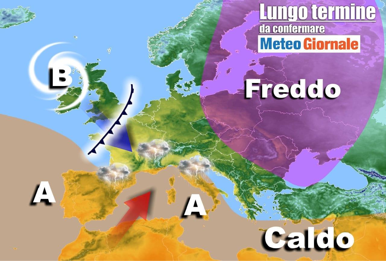 lungo termine 2 - Meteo Italia al 19 aprile, ecco i temporali primaverili