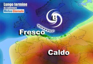lungo termine 22 300x207 - Meteo Italia al 15 maggio, bolla di CALDO ma anche temporali