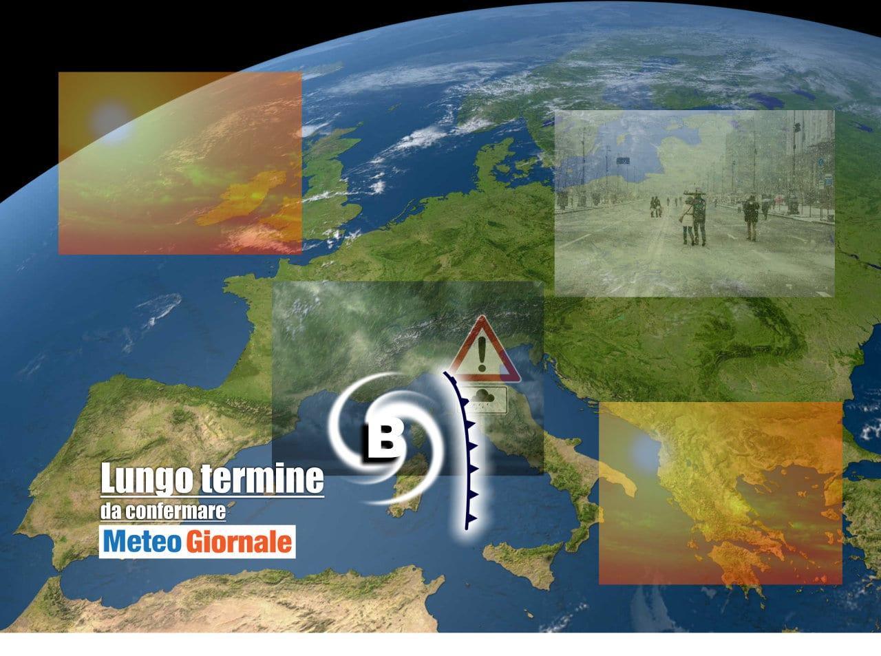 lungo termine 8 - Meteo Italia al 27 aprile, ancora BRUTTO e poco primaverile