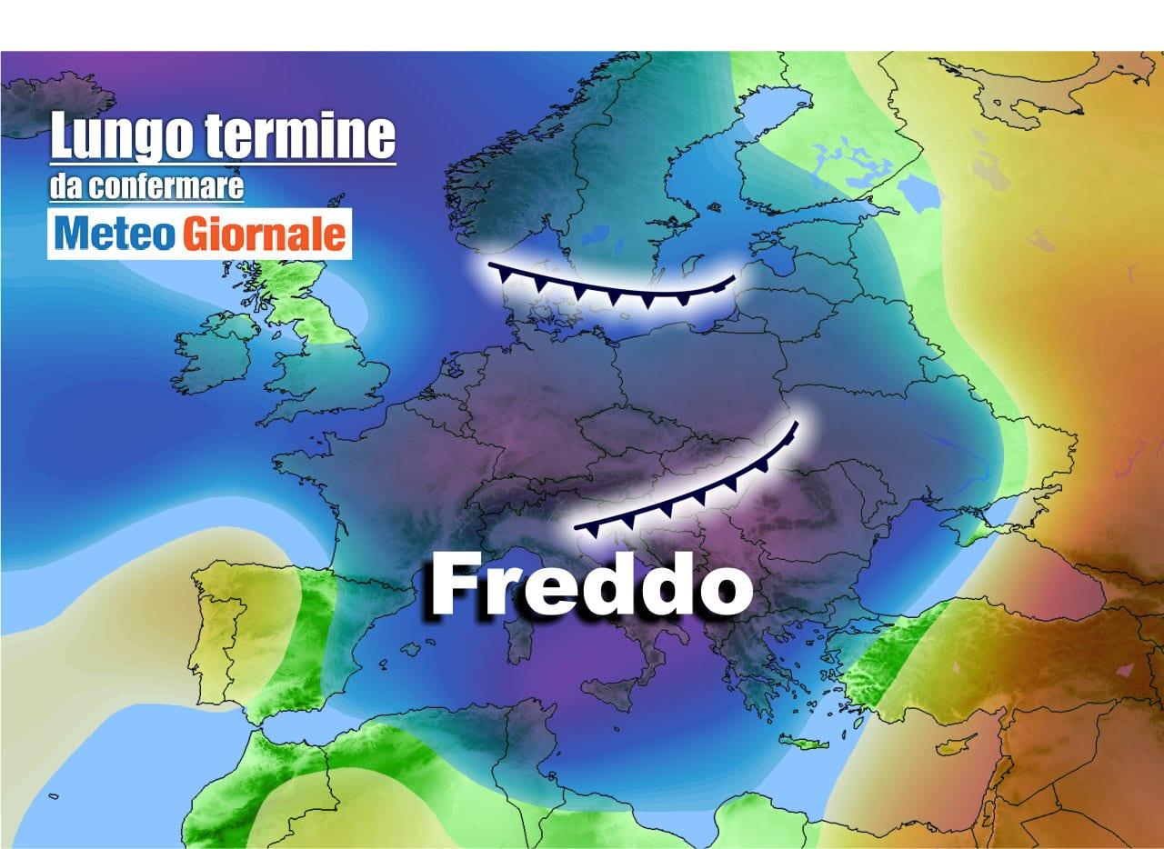 lungo termine1 - Meteo Italia al 17 aprile, tra Anticiclone e temporali