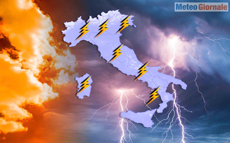 maggio con temporali - Maggio, meteo compromesso spesso estremo