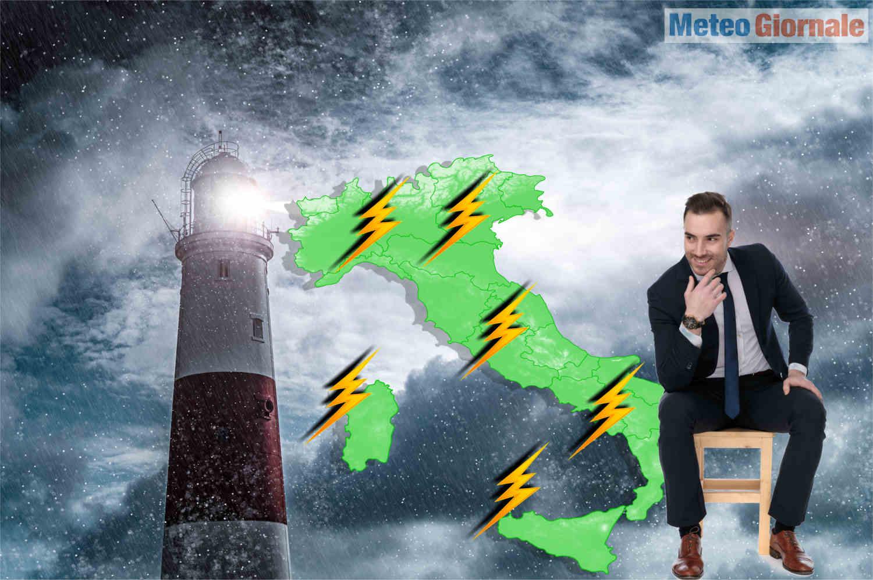 meteo con temporali violenti - Meteo con temporali violenti, siamo nel pieno della Primavera