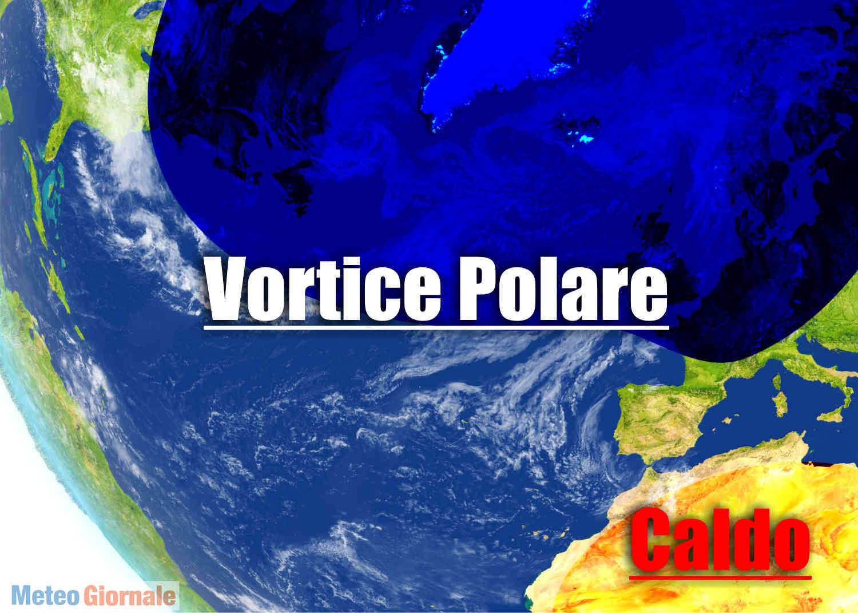 meteo con vortice polare in disfatta - VORTICE POLARE in disfatta. Meteo MAGGIO estremo, eccolo qui