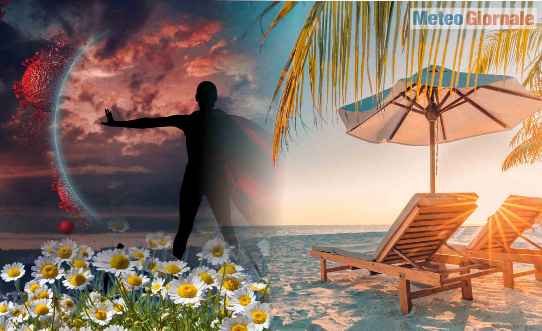 meteo estate al tempo del covid - ESTATE ai tempi del Covid, meteo clemente o no, niente di buono