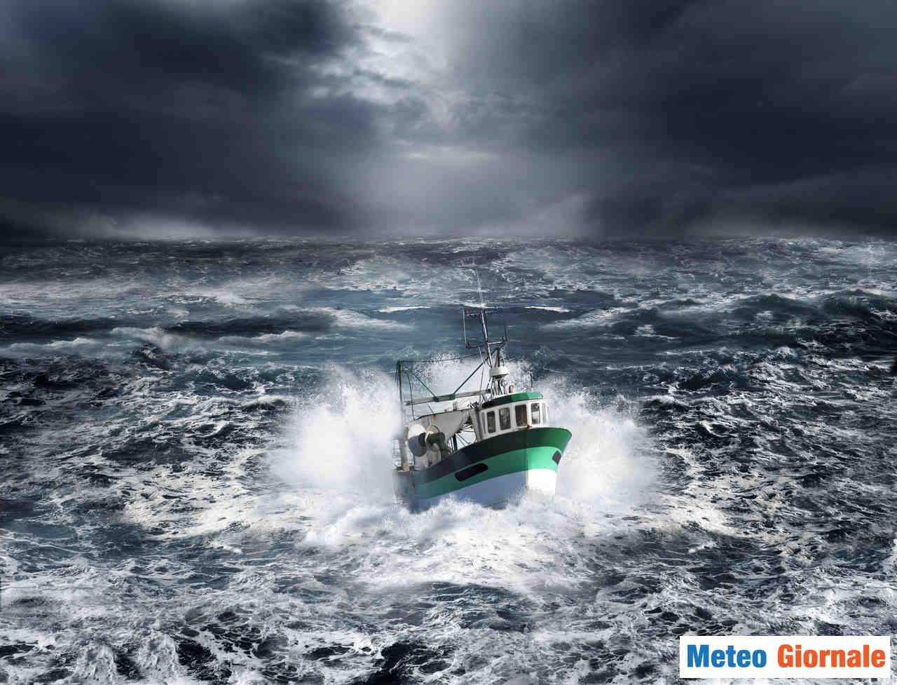 meteo giornale 00013 - WEEKEND meteo BRUTTO precederà settimana di BURRASCA