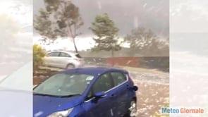 meteo grandine devastante inizia - Tornano le PIOGGE: meteo autunnale alle porte