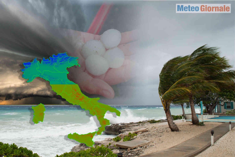 meteo maggio 2021 burrascoso e caldo - Meteo maggio 2021 burrascoso e Caldo: Super Grandine