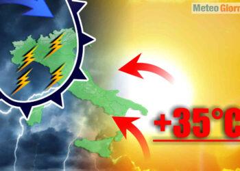 meteo sconvolto tra aprile e maggio