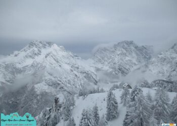 neve alpi1 350x250 - Torna la neve nel weekend: vediamo dove. Ecco tutti i dettagli