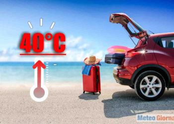 Ondate di calore sempre più precoci con record di calore.