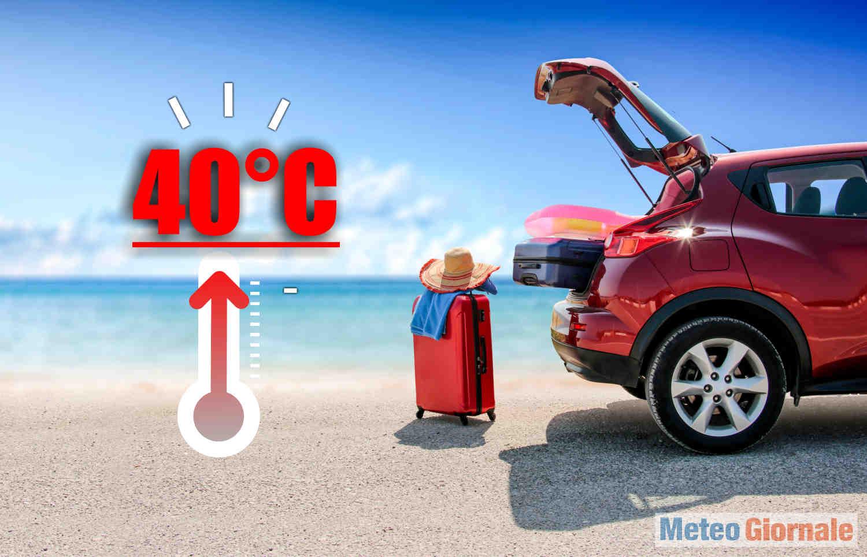 ondate di calore - Meteo d'Estate precoce con i QUARANTA GRADI. Quando