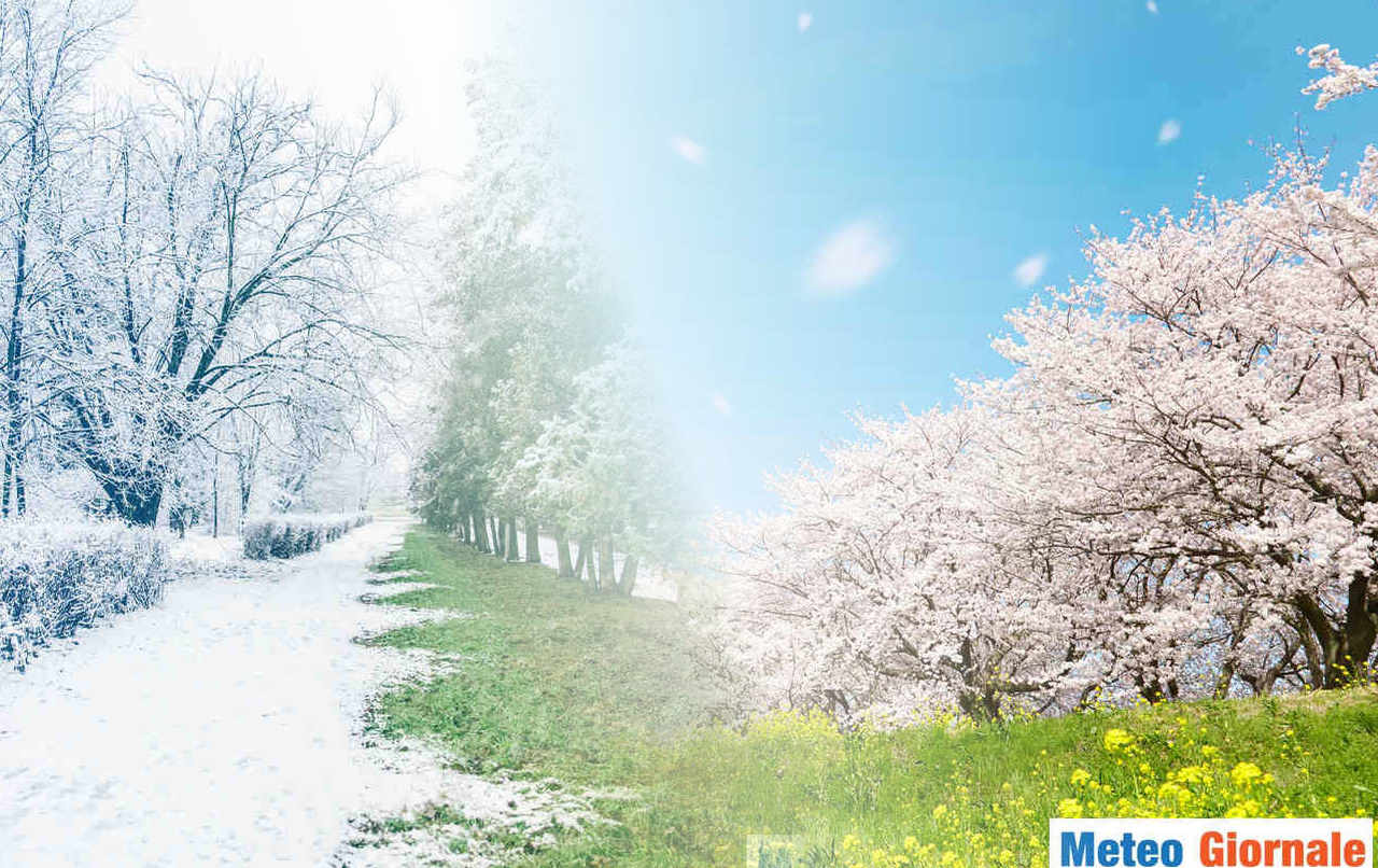 primavera - Come sarà la seconda parte d'aprile? Meteo con continui COLPI DI SCENA