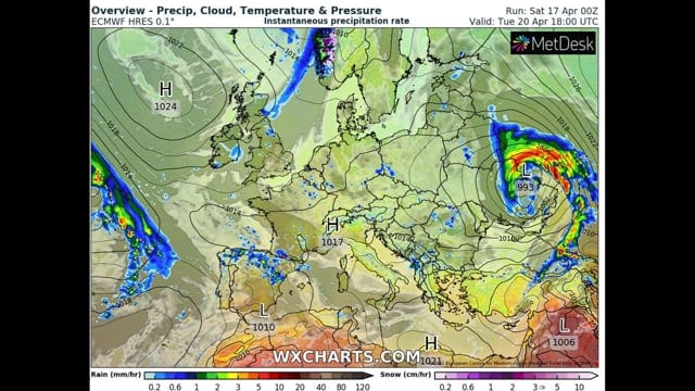 video centro meteo europeo inver - Video: CENTRO METEO europeo invernale, seguirà mix d'aria africana