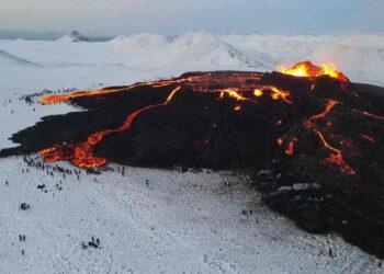 Video drone vulcani Islanda.
