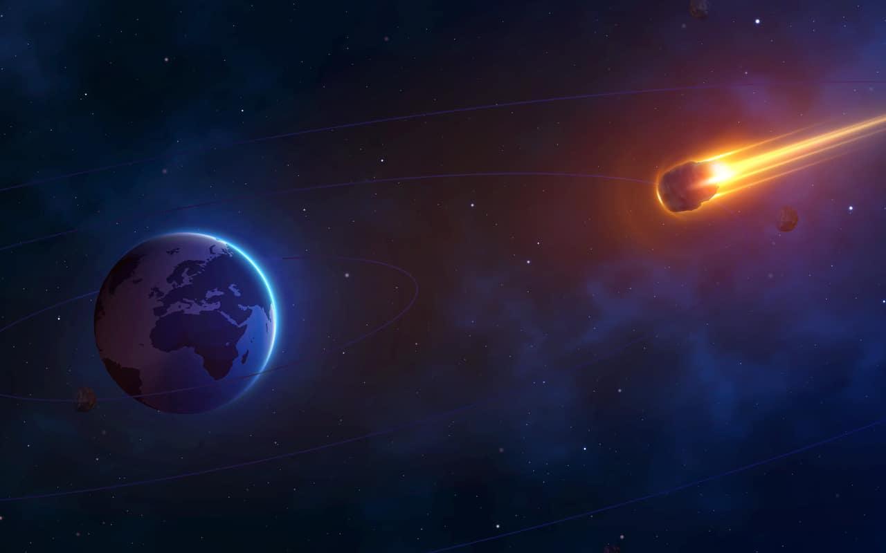 asteroide in rotta verso la terra - Meteoriti e Asteroidi prossimi alla rotta della Terra, scoperta la provenienza