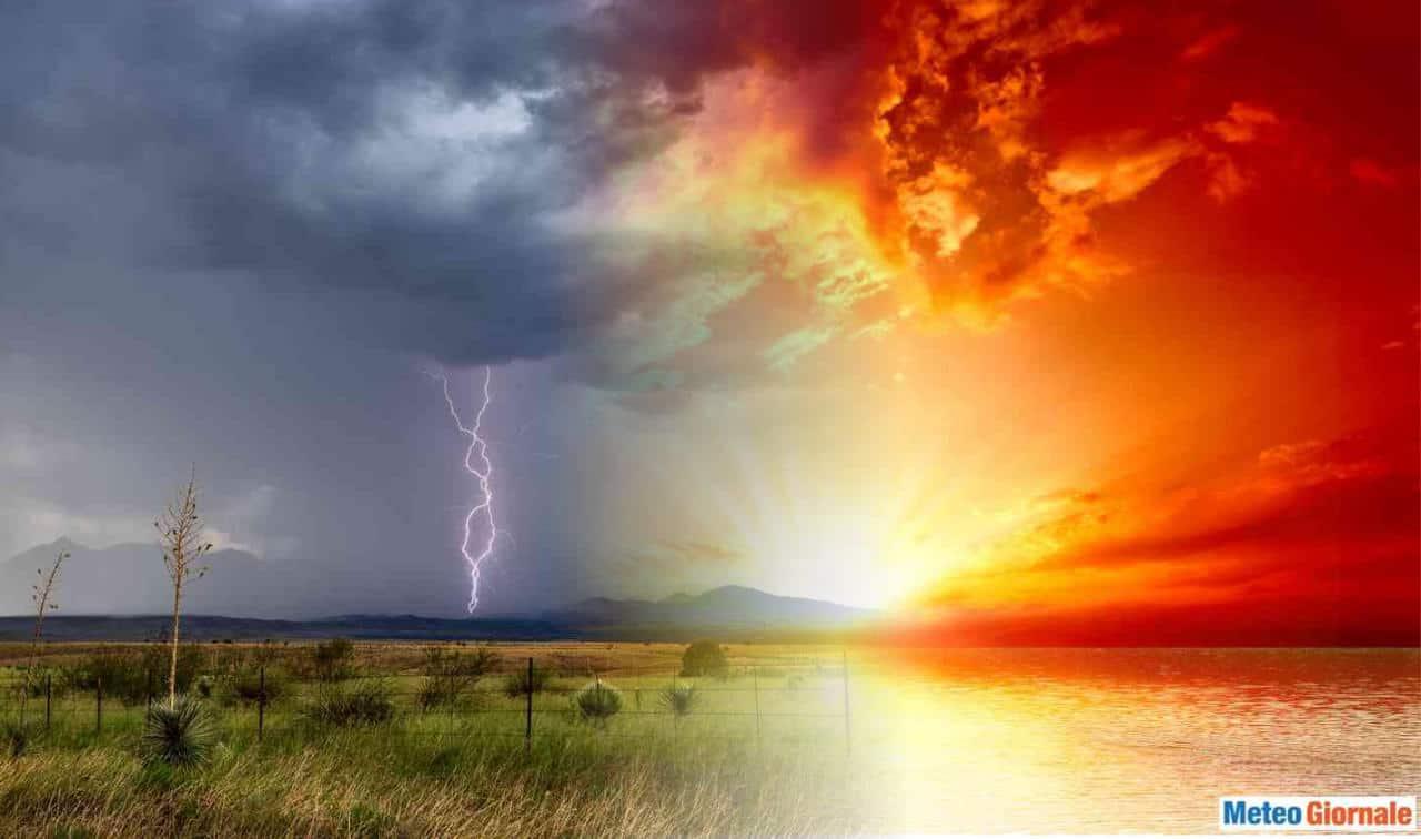 caldo temporale 1 - METEO, insidia maltempo nel weekend. Ecco dove colpiranno i temporali