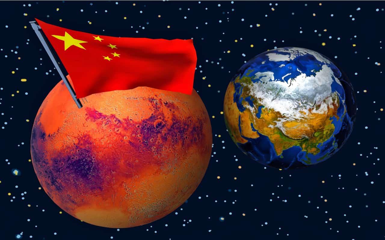 cina prepara missioni spaziali verso marte - CINA e tornerà presto su MARTE e sarà una super potenza dello Spazio