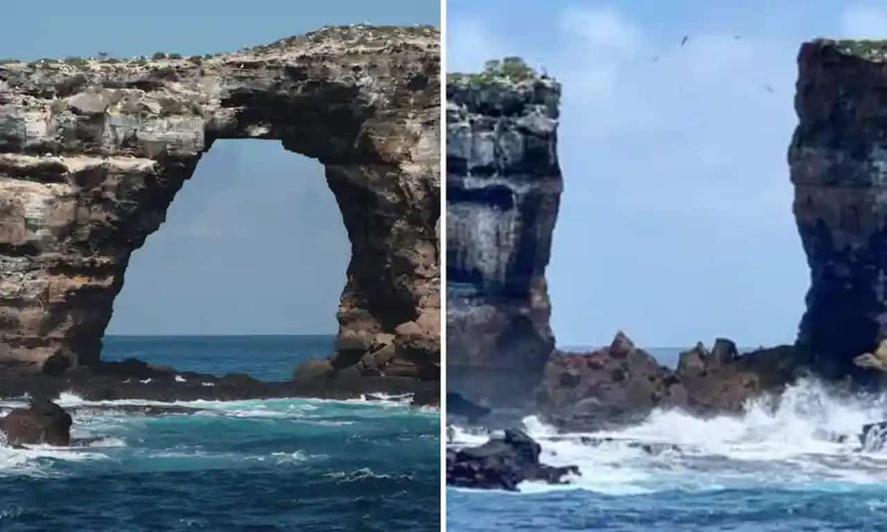 darwins arch - Arco di Darwin crolla nelle Isole Galapagos. Immediato intervento Di Caprio