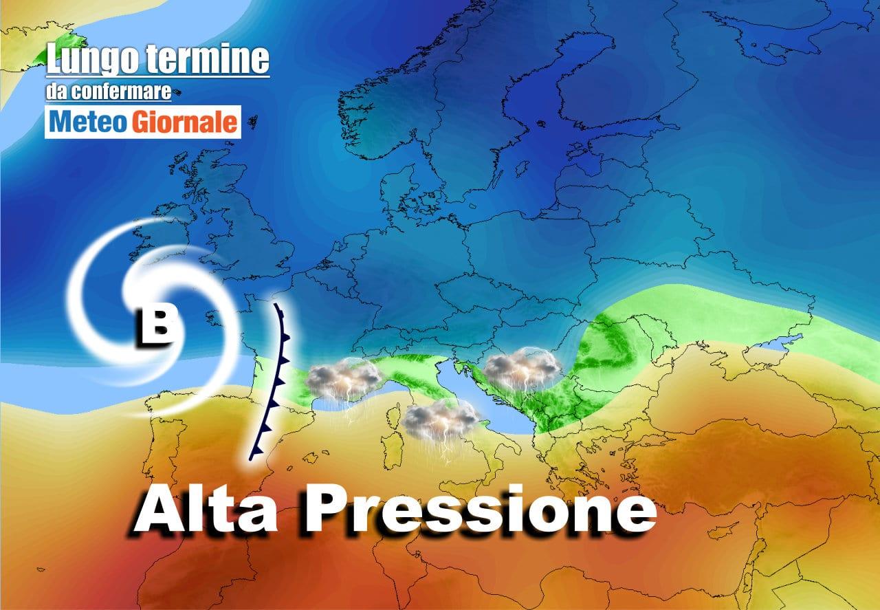 lungo termine 1 - Meteo Italia al 19 maggio, il CALDO non durerà